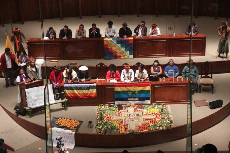 Assembly of Indigenous Peoples, Ecuador