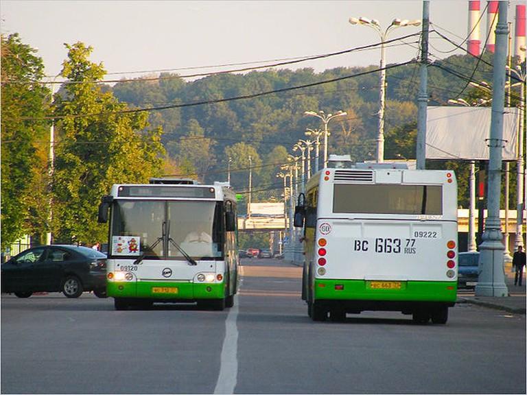 Bus LiAZ-5292.20, Moscow