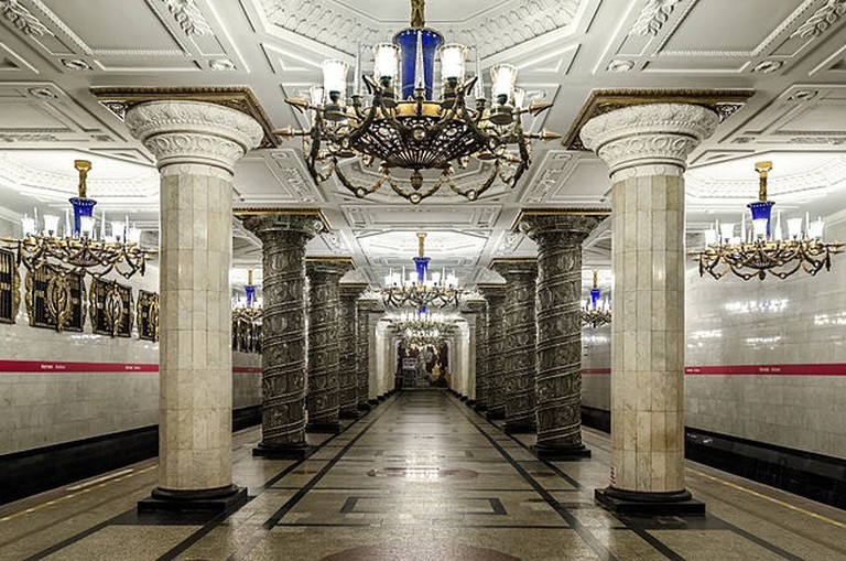 Station Awtowo. St. Petersburg