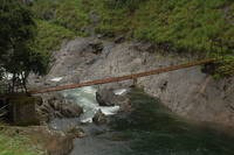 Bridge at Silent Valley