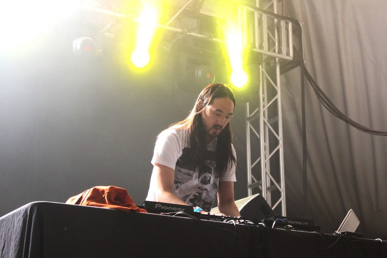 Steve Aoki in action | © Eli Watson/Flickr