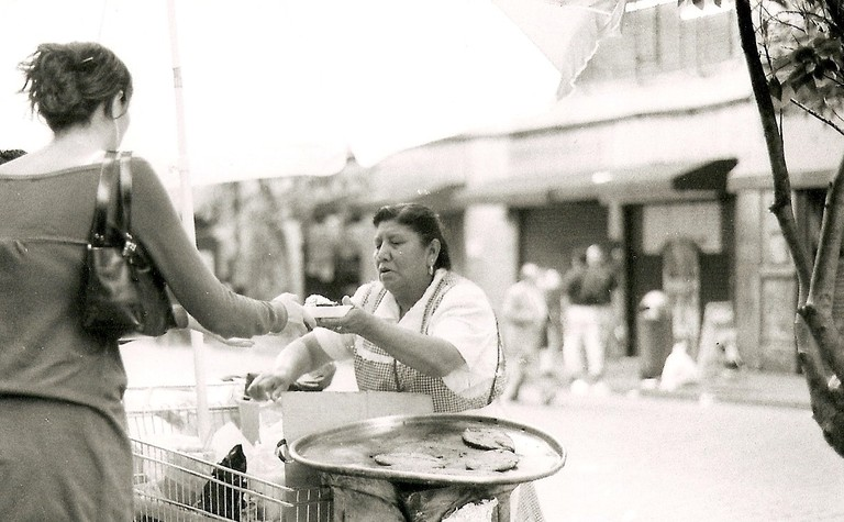 Tlacoyo Vendor