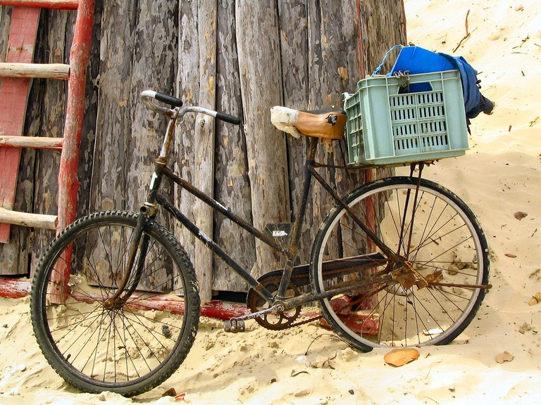 Bicycle in Havana