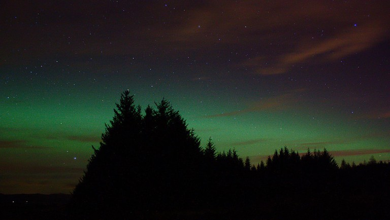 Northern Lights Over Aberdeenshire