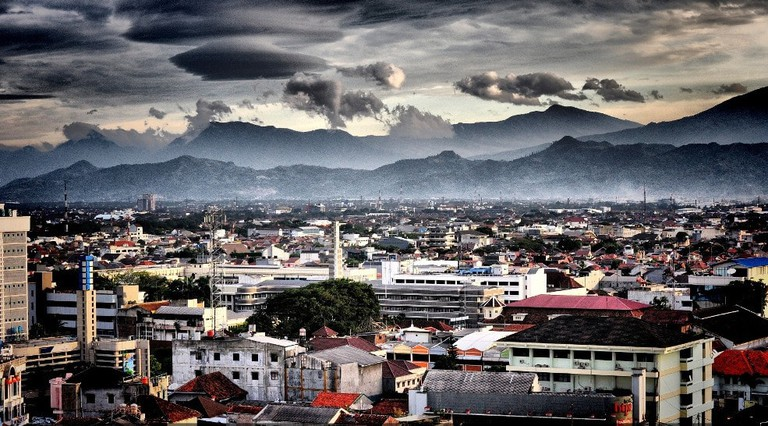 Bandung, a city with a view