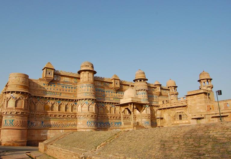 Gwalior fort is in Madhya Pradesh