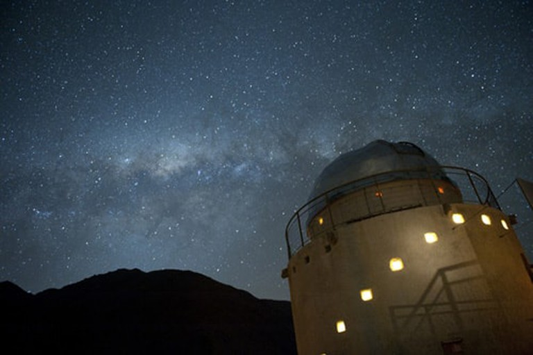 One of the Atacama Desert's many observatories