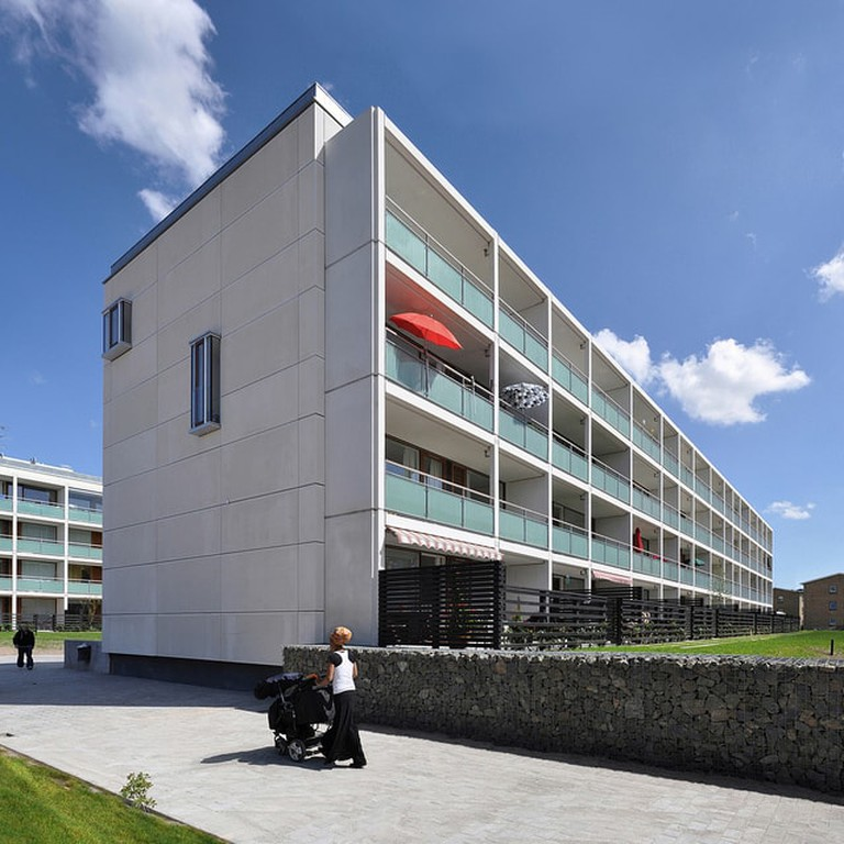 Social housing building in Copenhagen