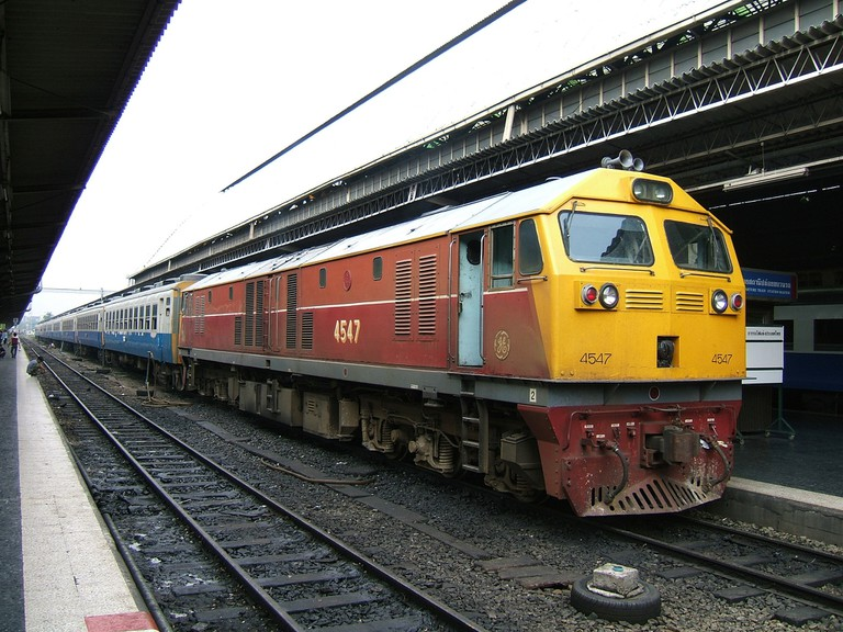 A local Thai train