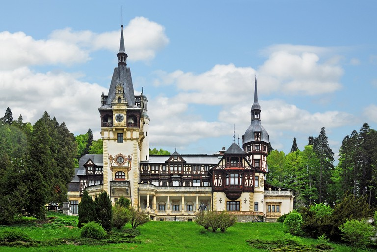 The fairytale Peles Castle