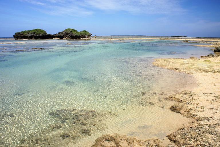 Hoshizuna-no-hama (Star Sand Beach)