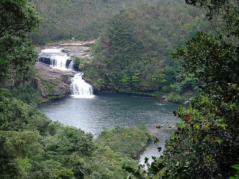 The Mariyudo Waterfall, Iriomote, Okinawa