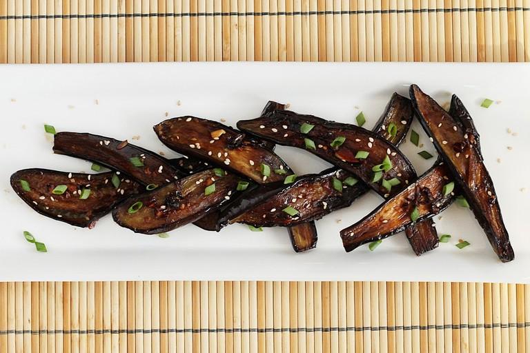 Chinese style eggplant