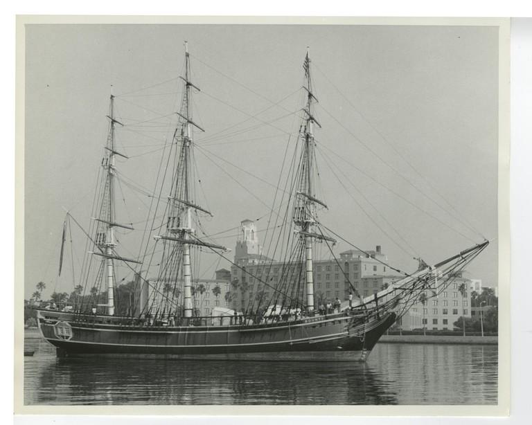A replica of the HMS Bounty