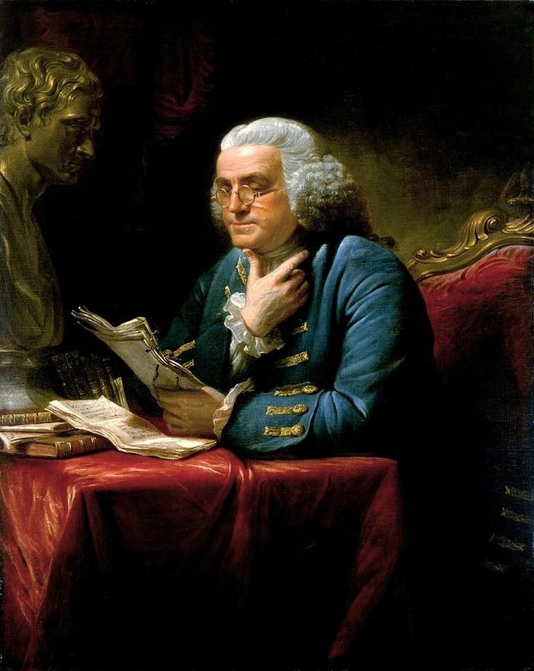 Benjamin Franklin by David Martin