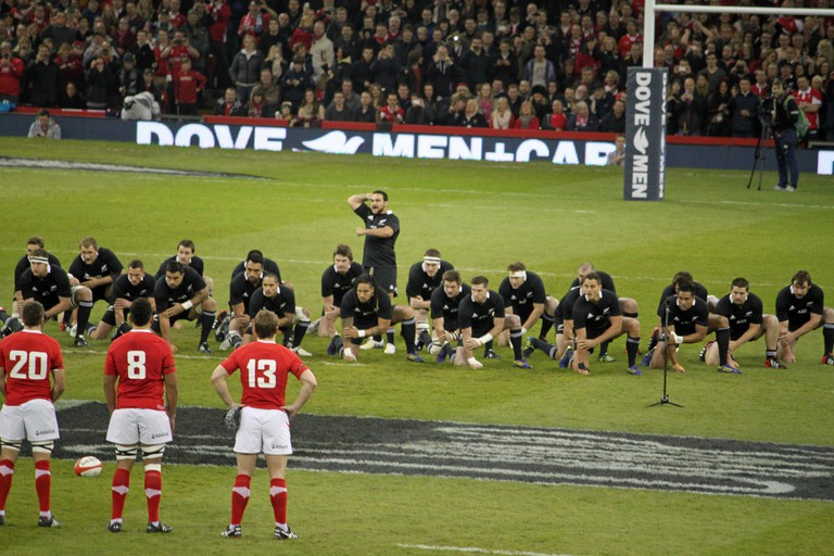 Wales vs New Zealand match, November 2012
