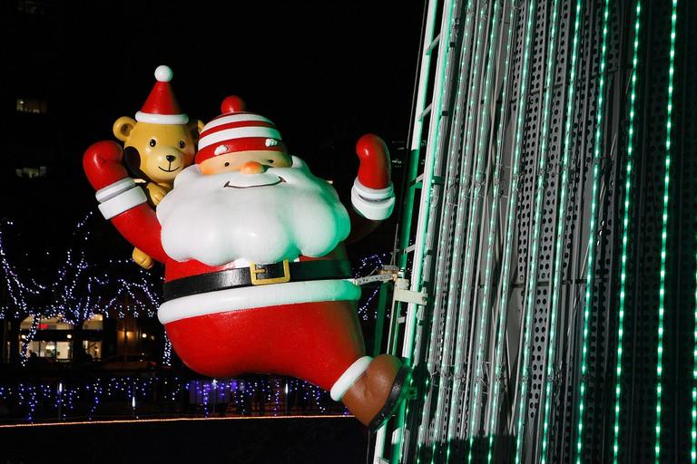 Santa is in Taipei!