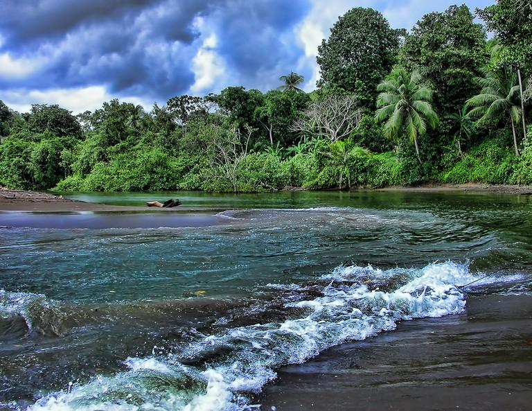 Aguajitas River, Costa Rica