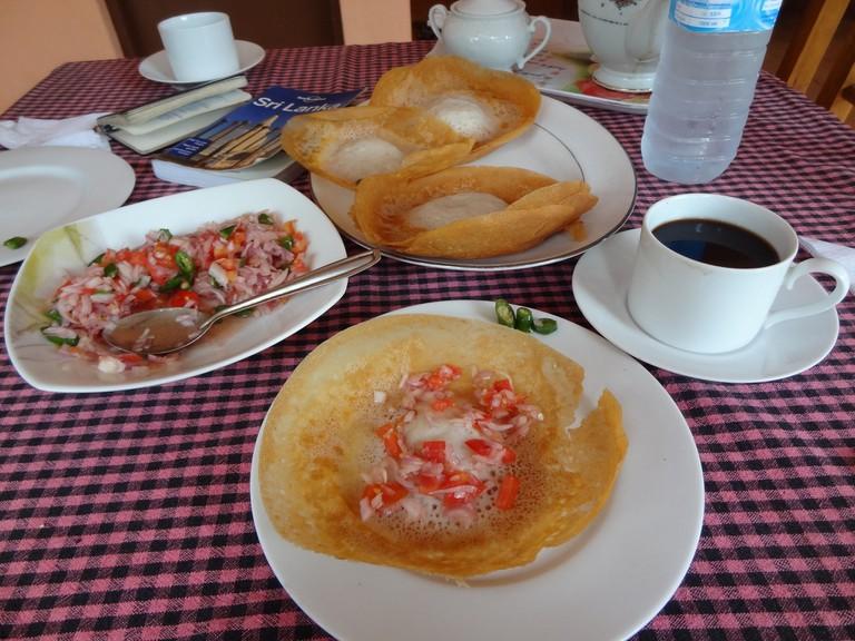 Sri Lanka Breakfast