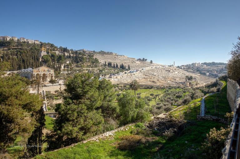 The Mount of Olives | © Derek Winterburn / Flickr