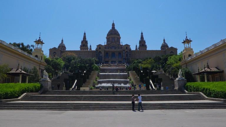 Barcelona's MNAC museum © Paul L