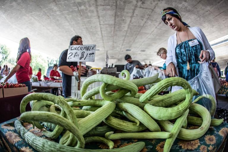 Sacramento Farmer's Market | © Robert Couse-Baker / Flickr