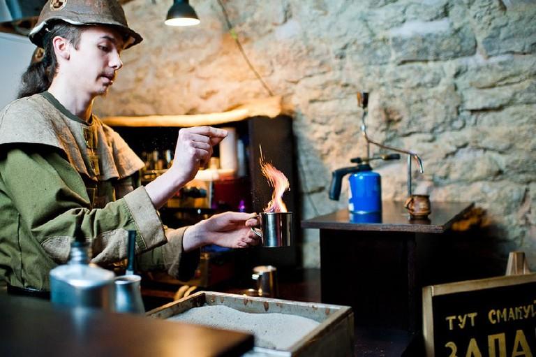 Coffee-making