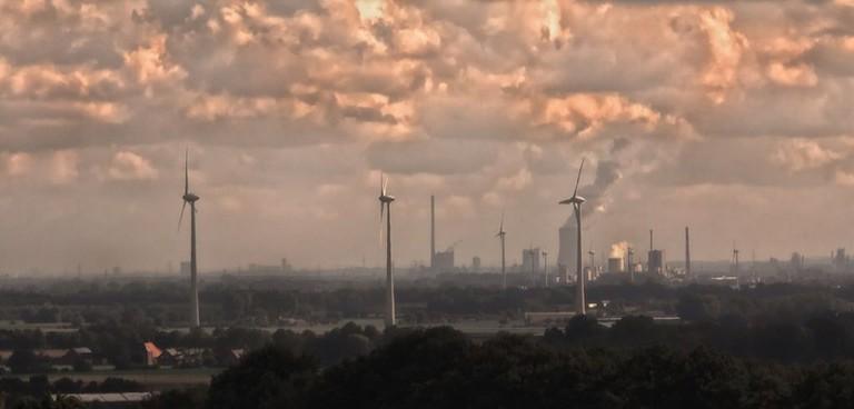 Industrial fumes