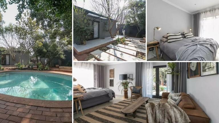 Johannesburg Airbnbs poolside cottage