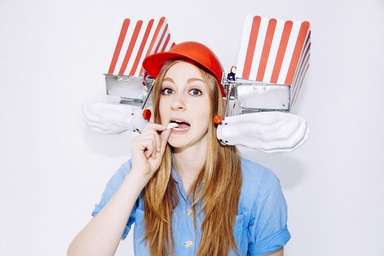 Queen of Shitty Robots Simone Giertz