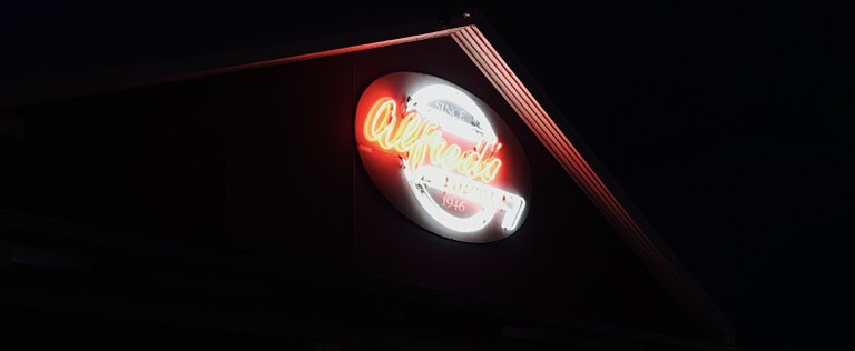 Alfred's Kitchen has been serving burgers since 1946, photo taken by Carmen Jenner