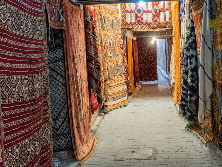 Carpets in Fez