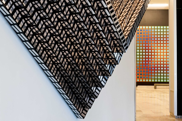 The Vasarely Foundation's artwork