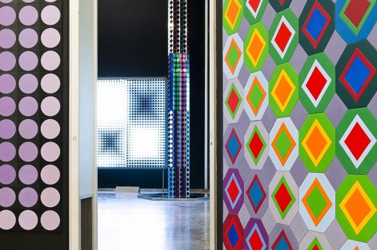 Inside the Vasarely Foundation