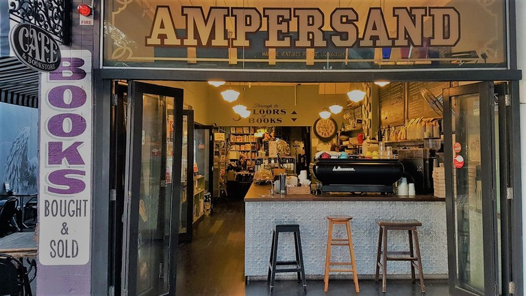 Ampersand Cafe & Bookstore Exterior