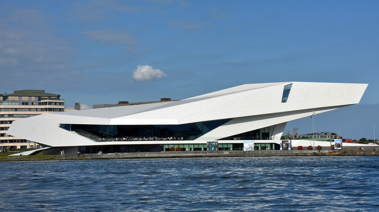 The Eye Filmmuseum's a great place to hangout over Autumn