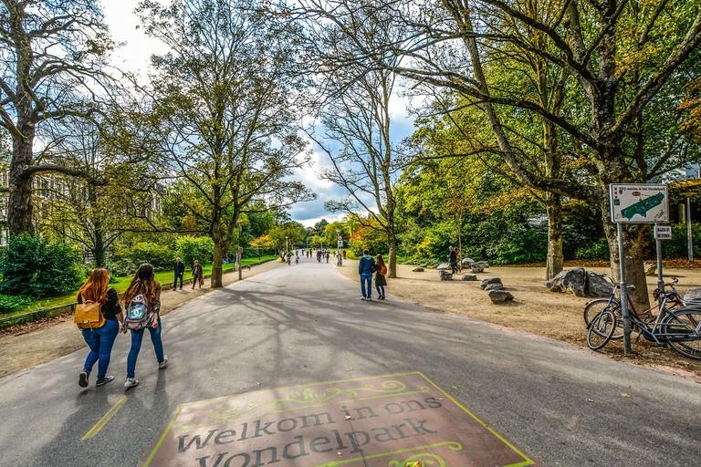 Take a walk around Vondelpark