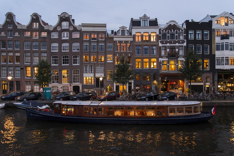 See Amsterdam by canal boat