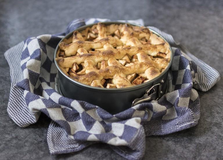 Apple Pie in Tin