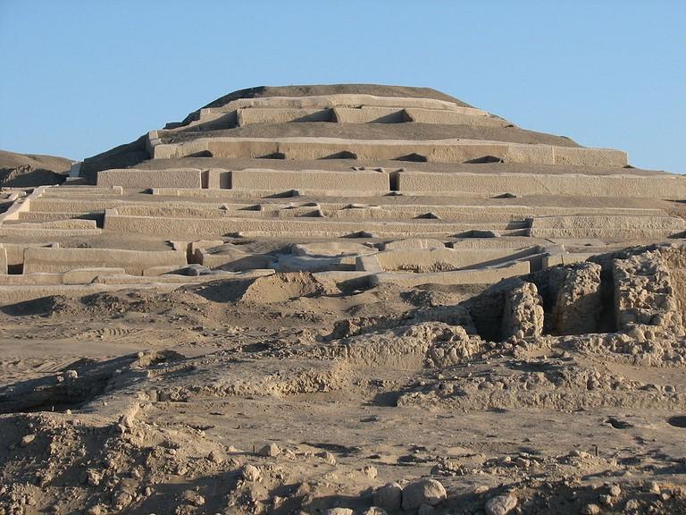 Archaeological site in Peru.
