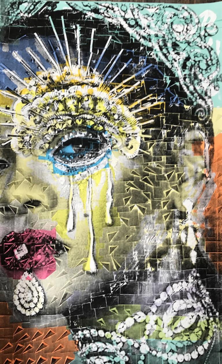 Ardan Özmenglu, 'Rihanna', 2017 | Courtesy the artist and Siyah Beyaz Gallery