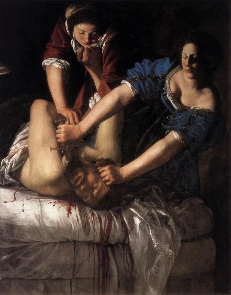 Artemisia Gentileschi's Judith Beheading Holofernes/WikiCommons
