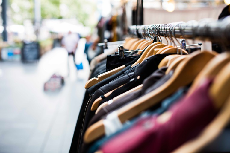 Clothing markets and second hand stores often reveal some well-priced gems.