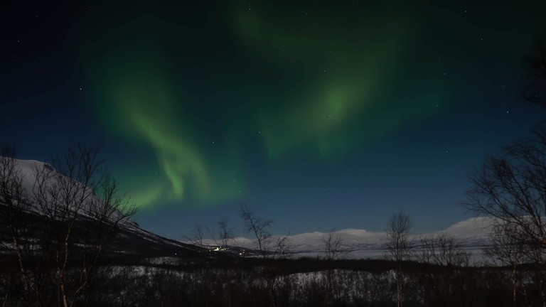 Enjoy the Northern Lights on a retreat in Swedish Lapland