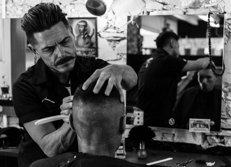Trendy barbers such as Barnet Fair are a great place to get a cut and shave.