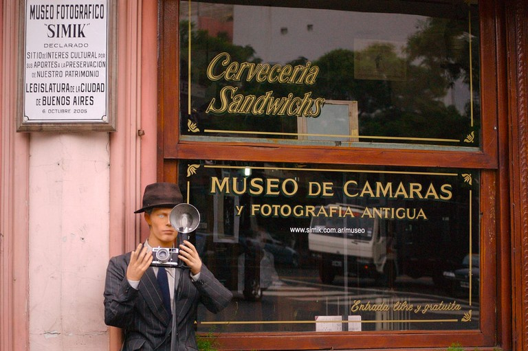 The Museo Fotografico Simik in Chacarita
