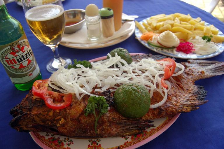 Big fish in Kigali
