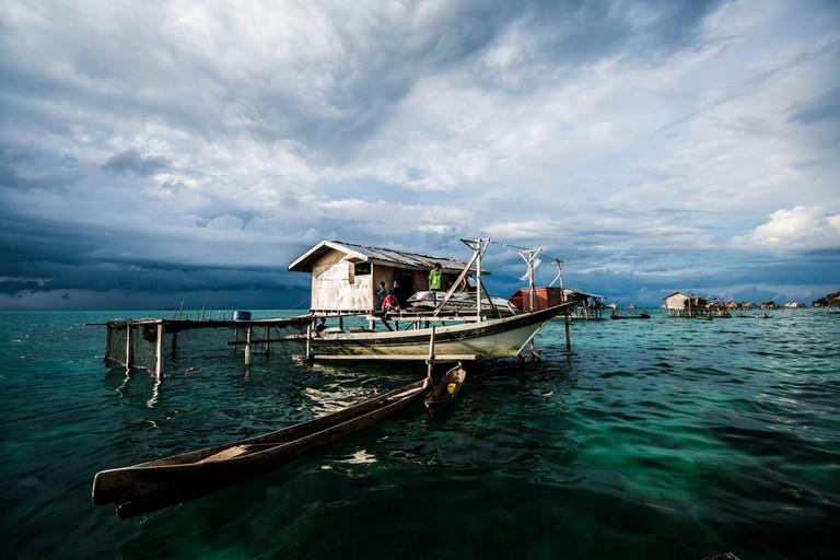 Bohey Dulang Island at Tun Sakaran Marine Park