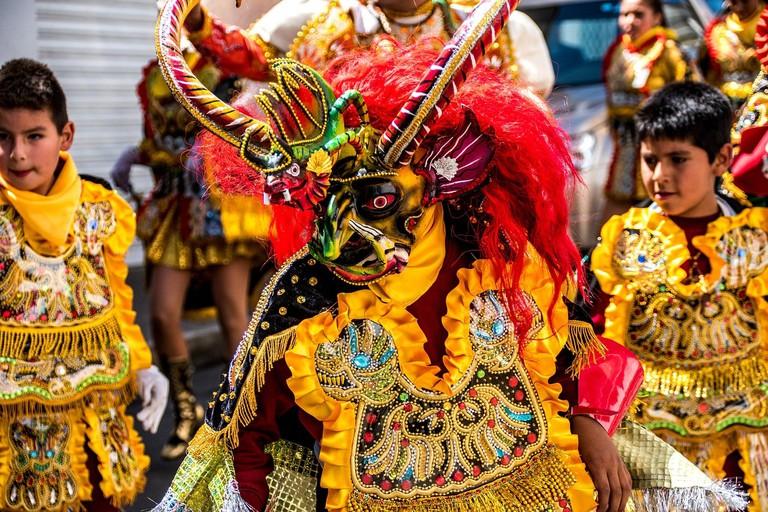 Morenada Dance Bolivia