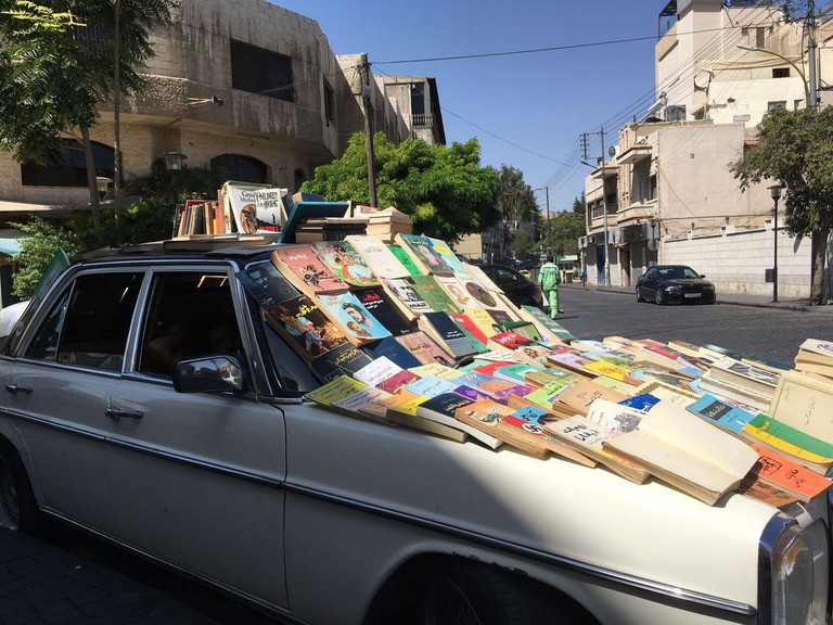 Books on the Road in Amman